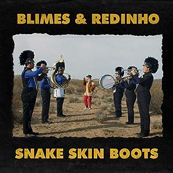 Snake Skin Boots