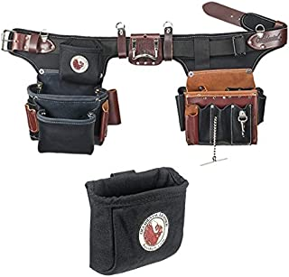 Occidental Leather 9596 Adjust-to-Fit Pro Electrician Tool Belt Set Bundle w/ 9501 Clip-On Pouch (2 Pieces)
