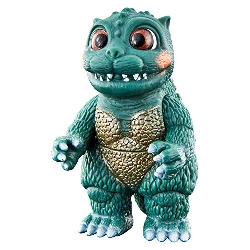 Movie Monster Series Little (Monster Doll Theatre Godziban) (Kaiju Monster Puppet Show Gojiban) Soft Vinyl Figure