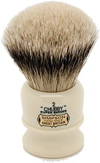 Simpsons Chubby 2 Super Badger Hair Shaving Brush