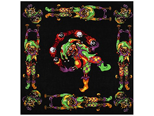 Sonnenscheinschuhe® 1 x Bandana Tuch Paisley Harlekin 100% Baumwolle Kopftuch Halstuch Schal