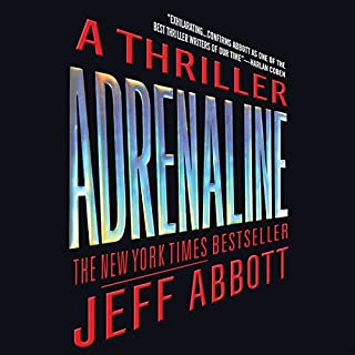 Adrenaline audiobook cover art