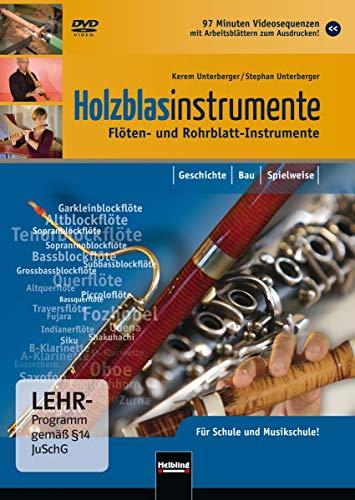Holzblasintrumente. Flöten- und Rohrblattinstrumente
