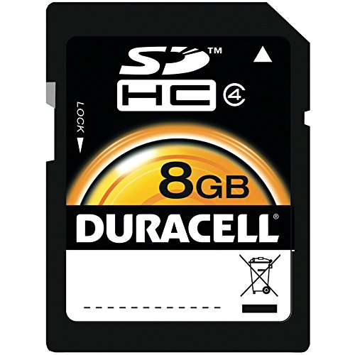 of duracell micro sd cards Duracell 8GB SD memory Card (DU-SD-8192-R)