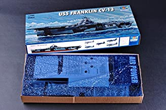 Trumpeter 1/700 USS Franklin CV13 Aircraft Carrier Model Kit