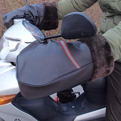Samber Lenkerstulpen, Winter Motorradlenker Handschuhe Winddicht Warme Handschuhe Lenkerhandschuhe