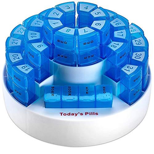 N/A YXY-Tech Digitale pillenbox, automatische tabletdispenser, herinnering, pillendoos, elektronische tablettenbox, weekmaal, digitale pille-organizer, elektronische pille-herinnering