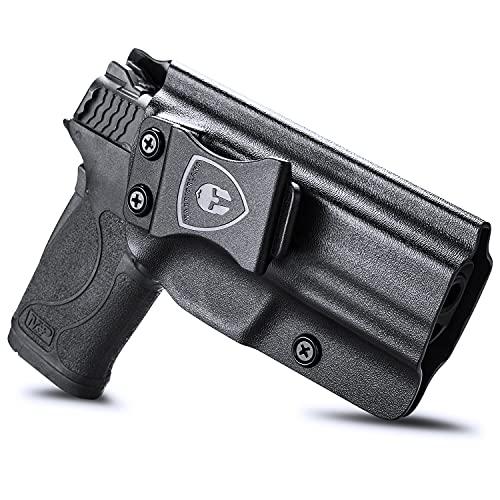M&P Shield 9mm EZ Holster, IWB Kydex Holster Fit: S&W M&P...