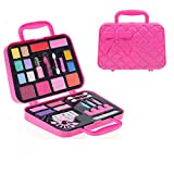 Makeup Kit for Girls,Non Toxic Girls Makeup,Kit Makeup Kit for Kids,Exquisite Fold Out Cosmetic Palette Kit Great and Birthday Gift