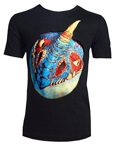 Dragons Kinder T-Shirt DreamWorks Sturmpfeil/Stormfly Kopf, Größe 116-158 (128/134)