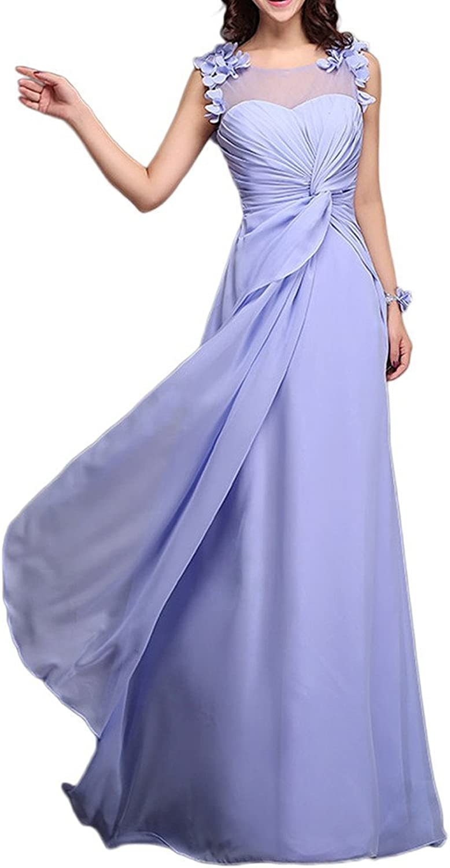 Angel Bride Stylish SemiSheer Bridesmaid Formal Prom Dress with Corset