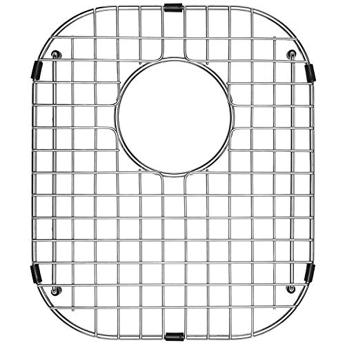 "Serene Valley Sink Protector and Kitchen Sink Bottom Grid NDG1518, 304 Premium Stainless Steel, dim 12"" x 14 1/8"""