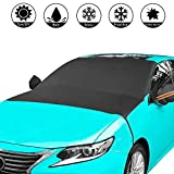 Car Snow Cover, Car Windshield Snow Cover All Weather with Side Mirror Covers Waterproof, Double-sided Design Suitable for All Seasons/Snow/Ice/Ultraviolet/Frost/Suitable for Most Cars/SUVs/MPVs
