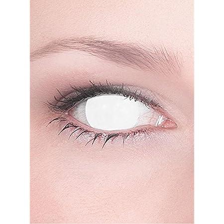 MYSALENS® Lentilles de contact Aveugle Total Blind sans correction …