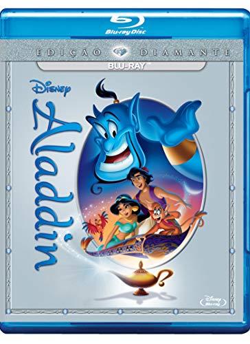 Aladdin Edição Diamante Disney Blu Ray