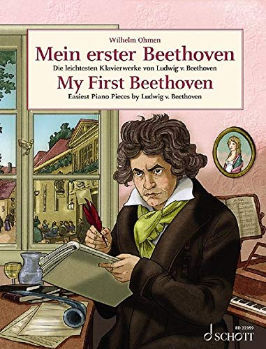 Mein erster Beethoven: Die leichtesten Klavierwerke von Ludwig van Beethoven. Klavier. (Easy Composer Series)