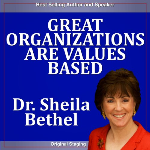 Great Organizations Are Values based cover art