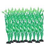 Rifny, piante acquatiche artificiali, piante da acquario in plastica, con simulazione viva, per ricreare l'ambiente vegetale dell'acquario