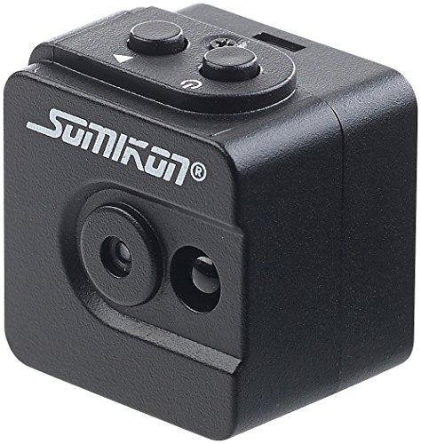 Somikon Überwachungskamera Mini: Ultrakompakte Micro-Videokamera mit HD-720p-Auflösung & LED-Nachtsicht (Mini Cams)