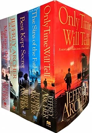 Jeffrey Archer Clifton Chronicles Series 5 Books Collection Set
