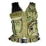 Tactical Weste Predator Einsatzweste Paintball Army Security Mission Vest Heavy (ICC FG)