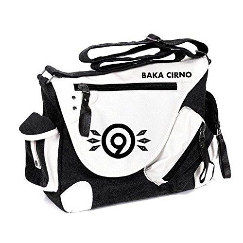 Siawasey Handtasche, Umhängetasche, Schultertasche, Schultasche mit japanischem Anime-Motiv, Cosplay, Touhou Project2, Large