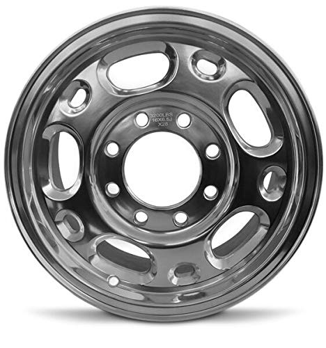 Road Ready Car Wheel for 2002-2006 Chevrolet Avalanche 2500 16 Inch 8 Lug Polish Aluminum Rim Fits R16 Tire