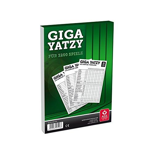 ASS 22517117 Altenburger 22517117-Giga Yatzy Block