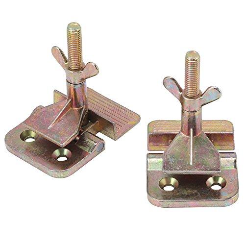 Fydun vlinderclip zeefdruk sjabloon bevestigingsvoering 2-delig/set zeefdruk metaal vlinder scharnier klem DIY hobby gereedschap