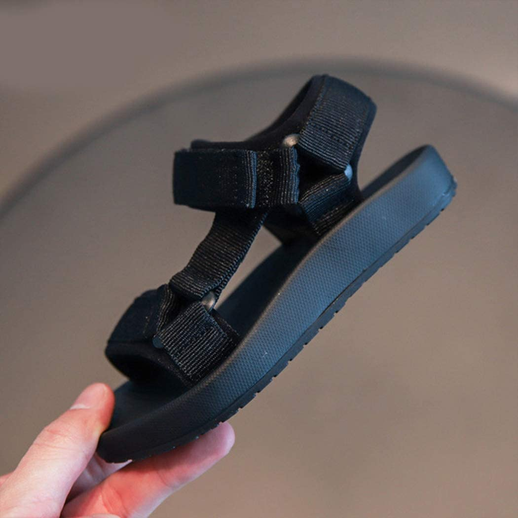 Azastar Sandalen Sommerschuhe M/ädchen Baby Strandschuhe Freizeit Schuhe Soft Sole Single Flache Badesandale