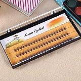 Pestañas postizas naturales, pestañas 3d Extensión de pestañas Diseño único para belleza profesional(9 mm)