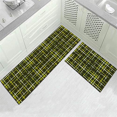 HLXX Alfombra de baño de Estilo étnico Moderno, Felpudo de Entrada, Pasillo, Sala de Estar geométrica, Alfombra Antideslizante para Exteriores A10, 50x80cm