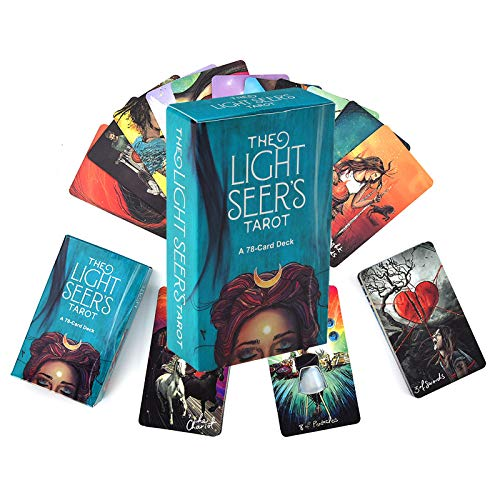 Licht Sehers Tarot 78 Karten, Tarot-Karten, zurück in die Zukunft Brettspiel (englische Ausgabe)