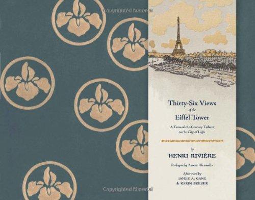 Thirty-Six Views of Eiffel Tower