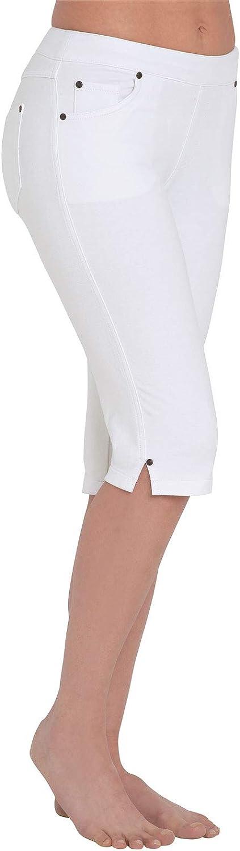 PajamaJeans Bermuda mart Shorts Ranking TOP9 for Women Denim - Capri Jeggi Stretch