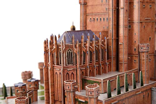 4D Cityscape 3D Puzzle: Game of Thrones Red Keep