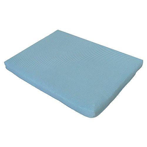 ペットマット 高反発マット 介護用 ペット用マット 洗える クッション (ブルー)
