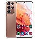 JYSSH Smartphone 4G, S21+Ultra Android 11 Cellulari Offerte con 6.7 Pollici HD+ Schermo,5380mAh Batteria,Octa-Core 8GB/256GB,32MP+50MP Tripla Fotocamera Dual SIM Telefono Cellulare,Pink-EU