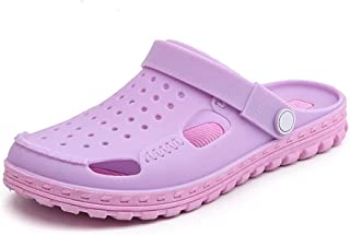 Summer Fashion Water Sports Shoes, Rubber Beach Shoes, Beach Swim Snorkeling Surf Diving Pool Yoga Sandals Shoes For Mens Womens (Color : Purple, Size : 39)