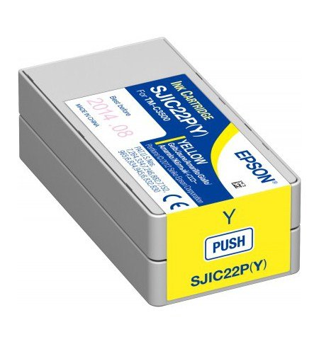 Epson Patrone, gelb, für Epson TM-C3500 (C33S020604)