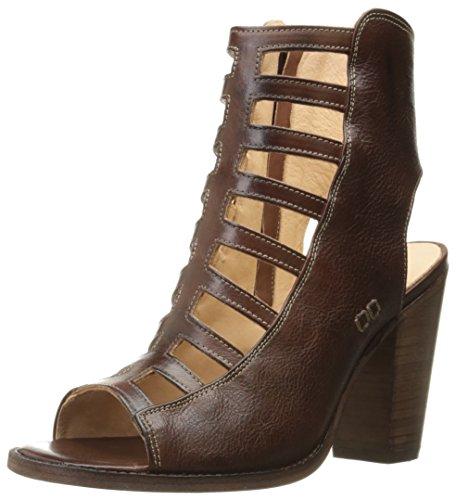 BED STU Women's Occam Heeled Sandal, Teak Rustic, 9.5 M US