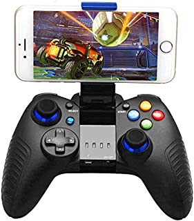 Mobile Game Controller, Wireless Gamepad Multimedia Game Controller Joystick Compatible with iOS/Android Mobile Phone - Direct Play