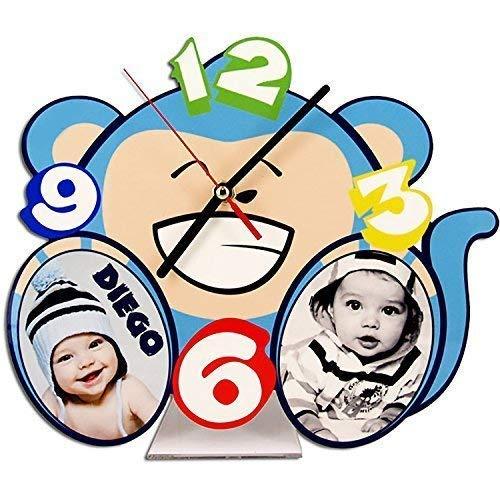 - ohne Marke / Generic - Tischuhr Personalisiert Wunschdruck Foto Baby Kinder