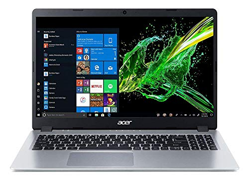Acer Aspire 5 15.6' FHD Slim Laptop Computer, AMD Ryzen 5 3500U Quad-Core Up to 3.7GHz (Beats I7-7500U), 8GB DDR4 RAM, 256GB PCIe SSD, WiFi 6, Windows 10, BROAGE 64GB Flash Drive, Online Class Ready