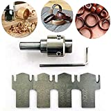 Juego de herramientas de jardín de taladro en espiral multifuncional, duradero -18x22 mm, utilizado para hacer collares