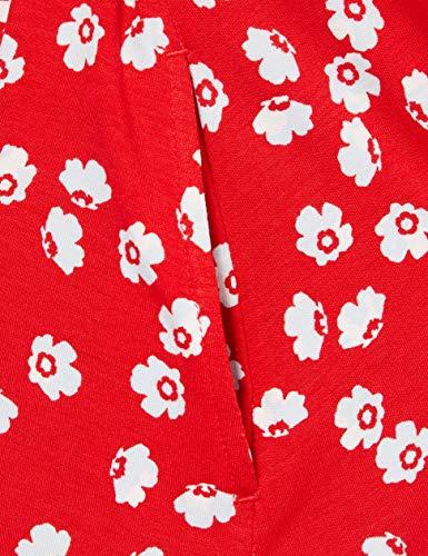 Amazon Essentials Vestido Cruzado sin Mangas Dresses, Amapola roja, L