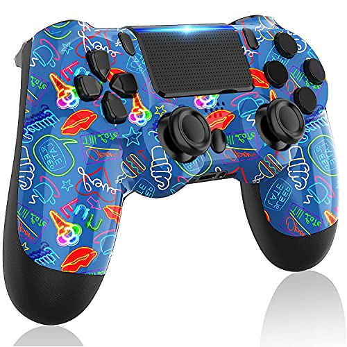 LITTJOY Wireless Controller for PS4 , Gamepad Controller for PS4(SKY BLUE)