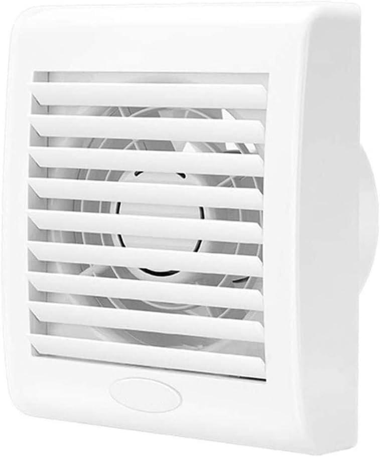 Extractor Cocina, Extractor de Baño Montado en la pared ventilador de ventilación, potente ventilador extractor de aire de la cocina baño, de alta potencia tipo de pared de bajo ruido del ventilador d