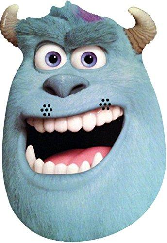 Monsters, Inc Monstres Academy University - Sulley - Masque de Visage Fait en Carte Rigide