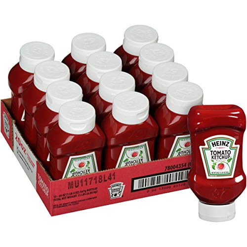 20 Pack of Heinz Ketchup Forever Full Inverted Bottle (20 oz) Now $14.18